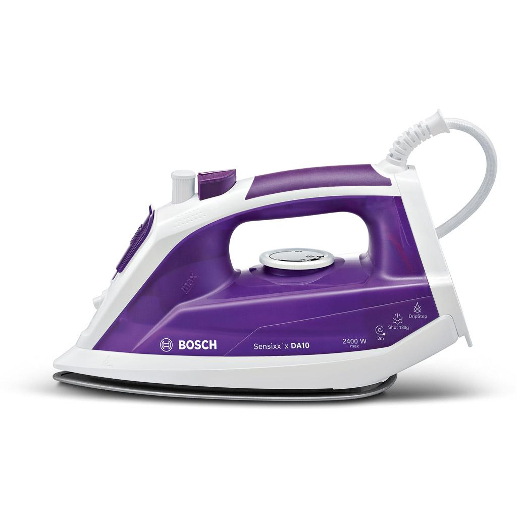 Bosch TDA1060GB SENSIXX DA10 Steam Iron in White Violet bddb145453a