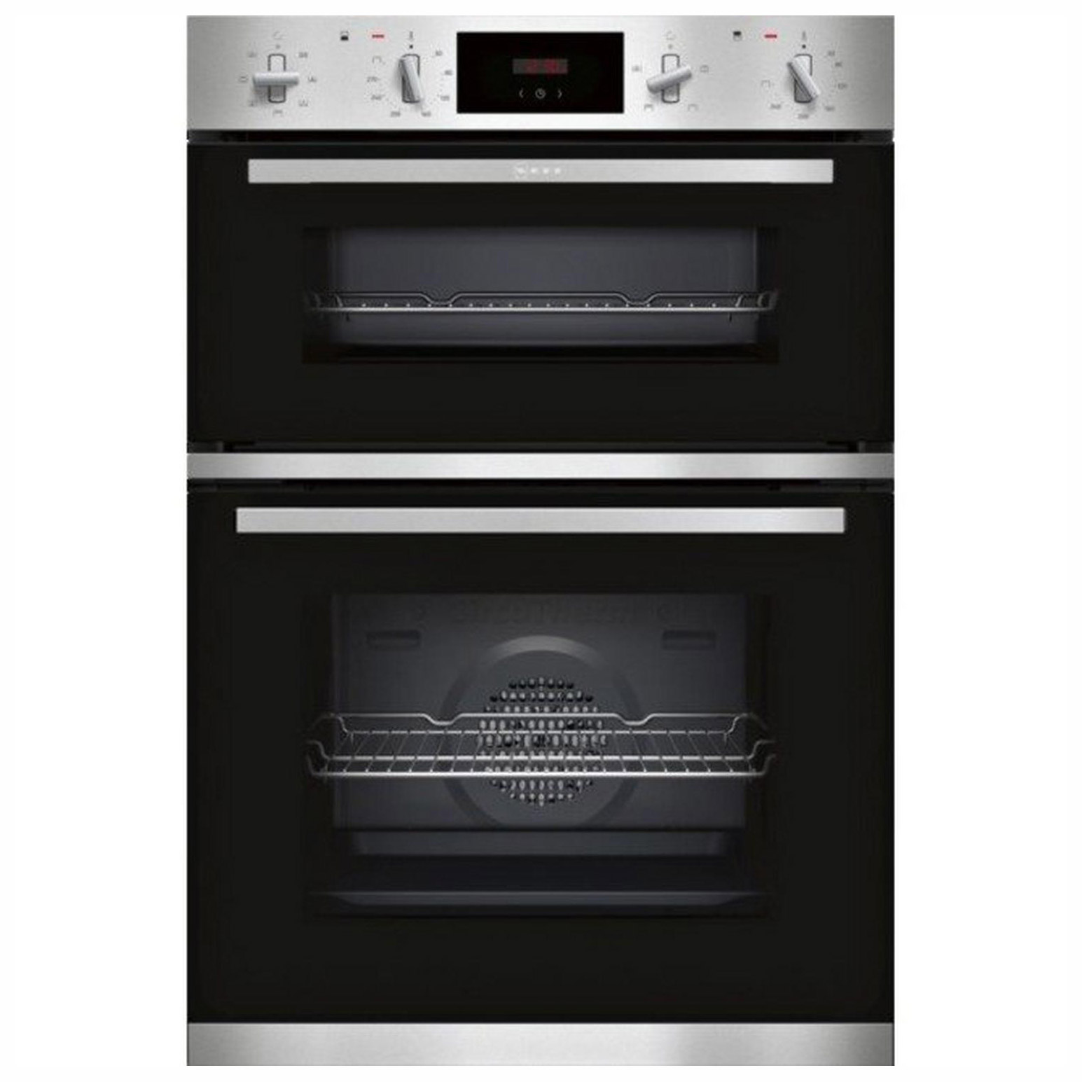 Neff U1gcc0an0b 60cm Built In Electric Double Oven In