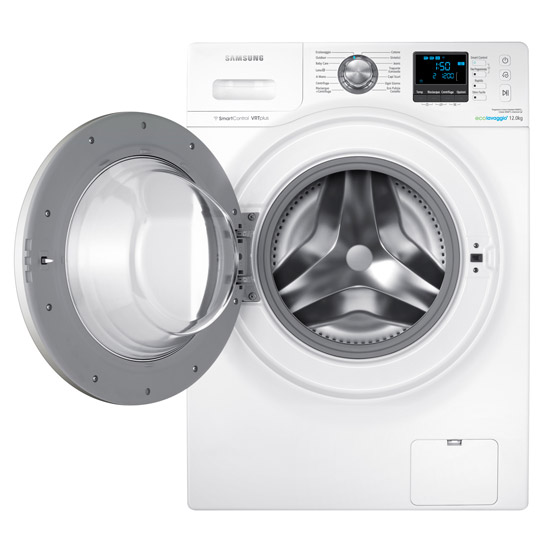 samsung wf12f9e6p4w eco bubble wifi washing machine. Black Bedroom Furniture Sets. Home Design Ideas
