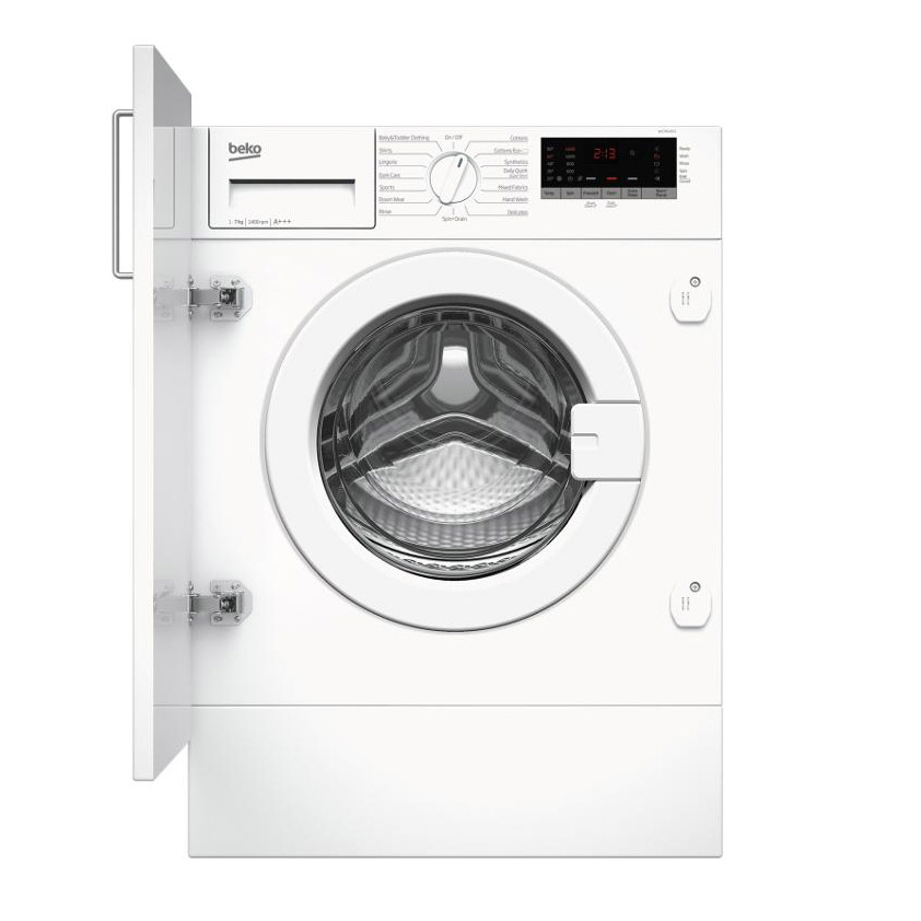 Beko Wic74545f2 Integrated Washing Machine 1400rpm 7kg A