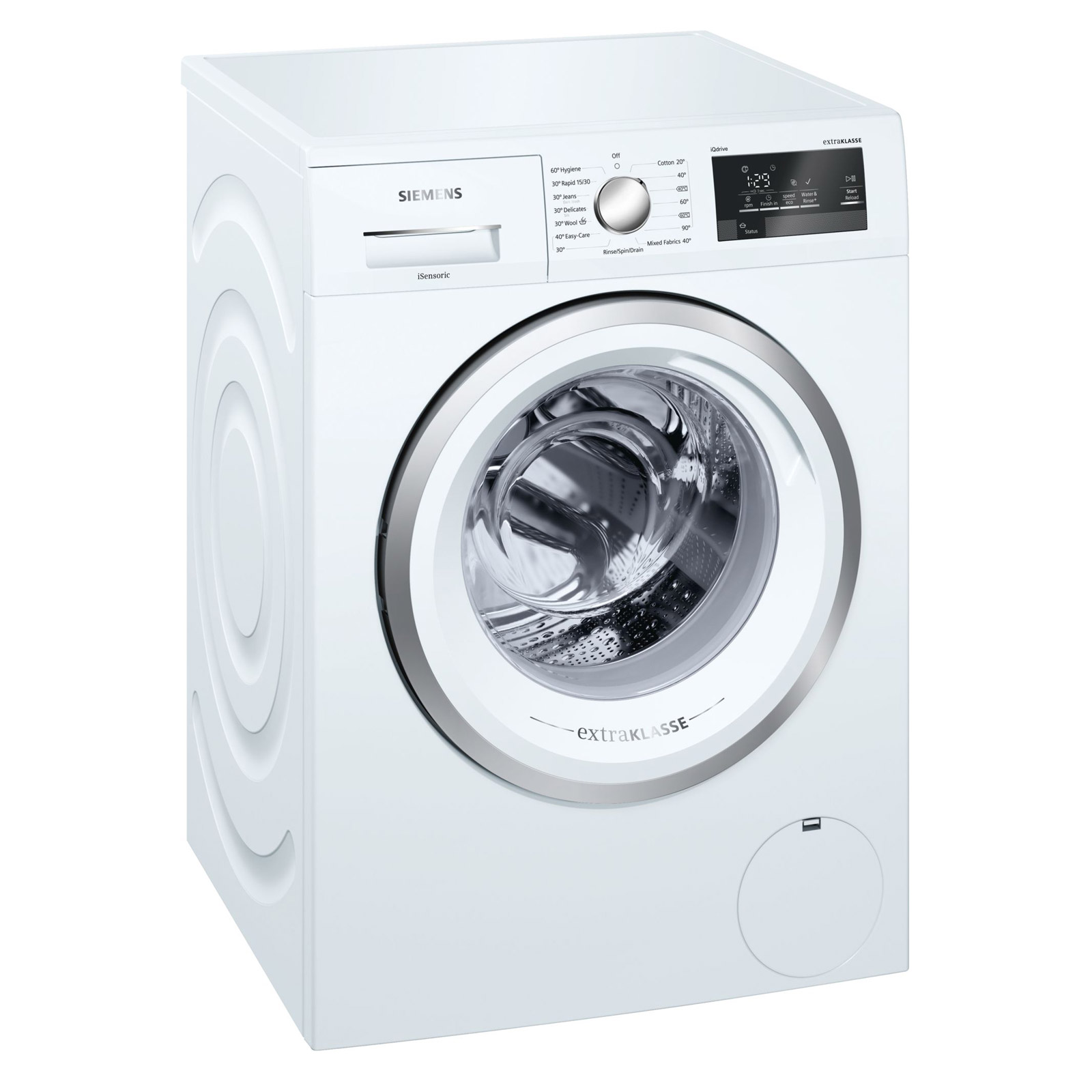 Siemens Wm14t391gb Iq500 Washing Machine In White 1400rpm 8kg A