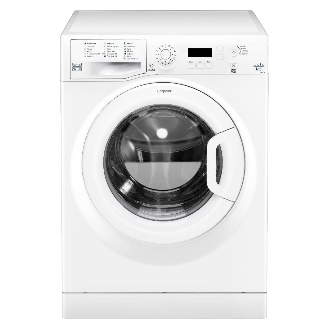 hotpoint wmeuf722p washing machine in white 1200rpm 7kg a rated rh sonicdirect co uk hotpoint smart tech washing machine instruction manual hotpoint washing machine user manual