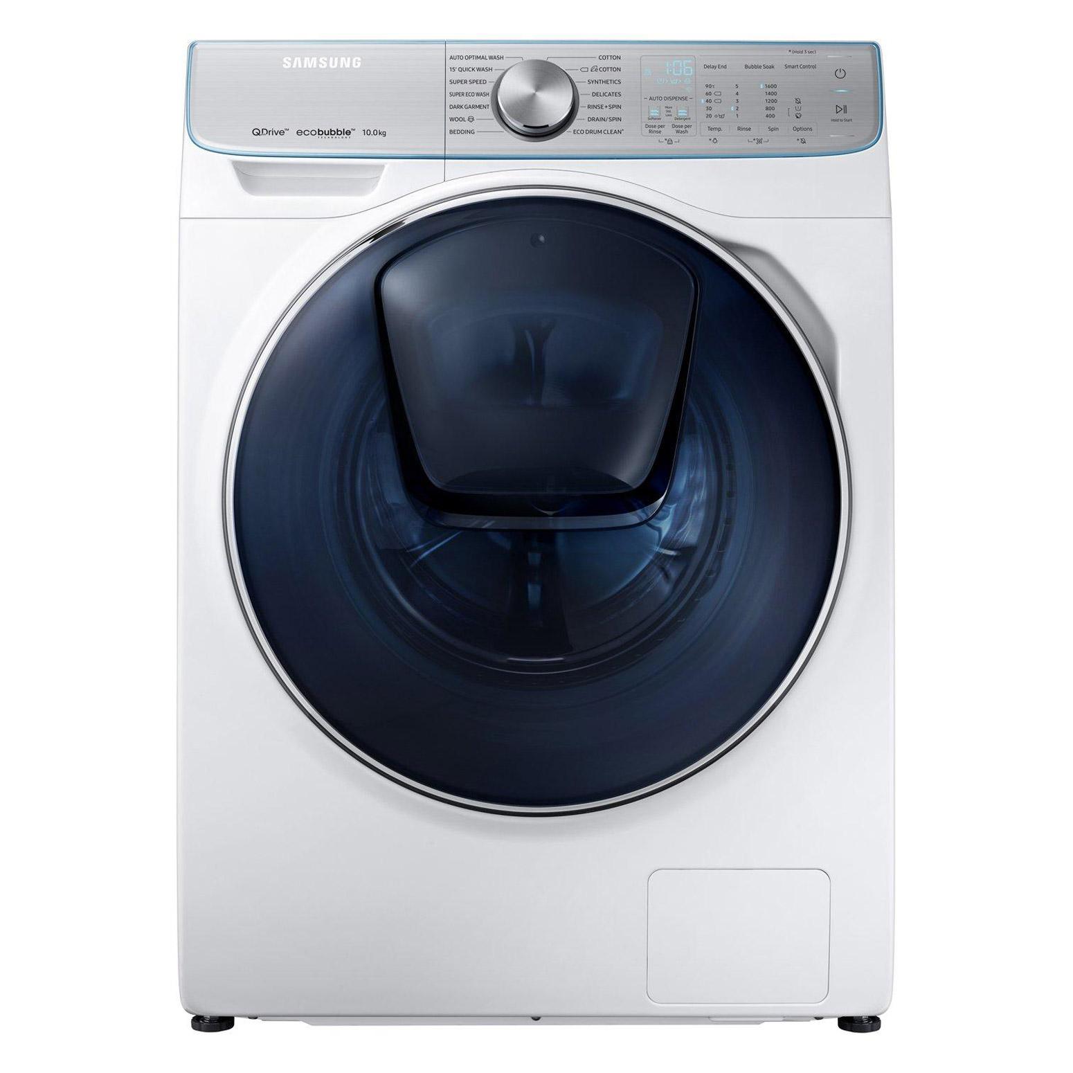 Samsung WW10M86DQOA QuickDrive AddWash Washing Machine in White, 10kg